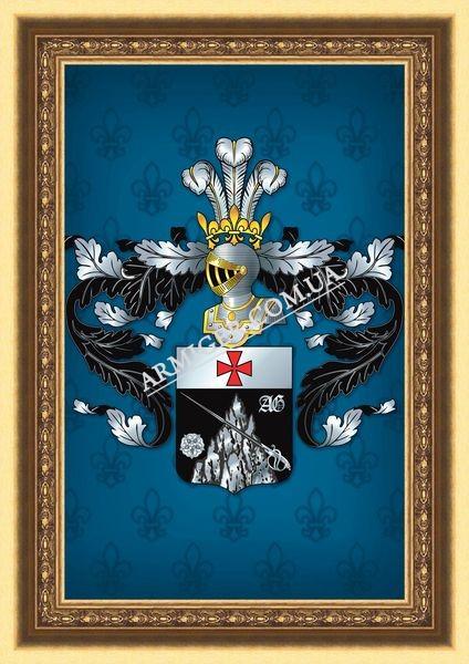 Герб рода Григоровичей (г.Киев)
