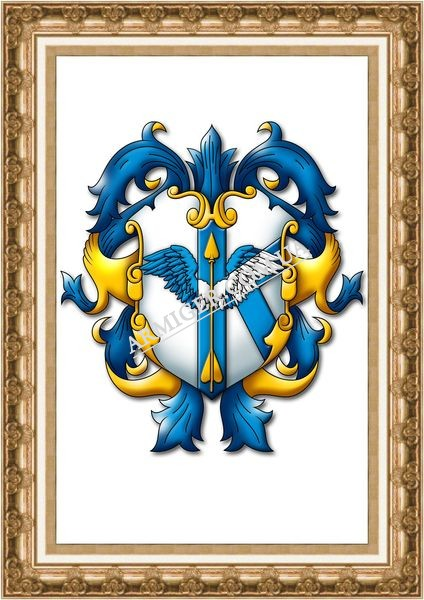Семейный герб рода Кучер (г.Киев)