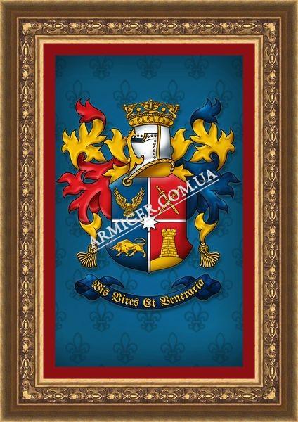 Личный герб Темченко Е.В. (г.Днепропетровск)