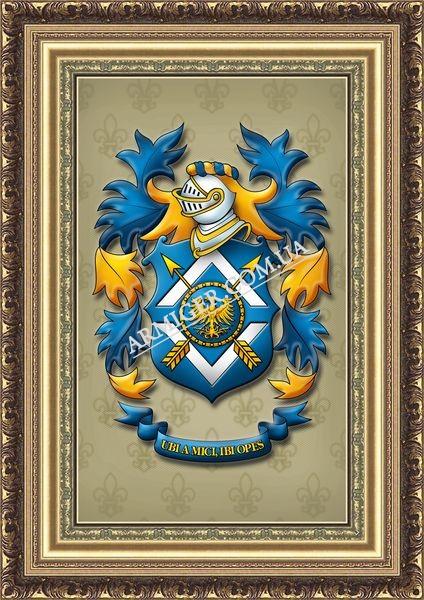 Личный герб Орлов А.В. (г.Донецк)
