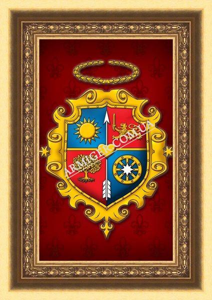 Семейный герб Слободяников (г.Винница)