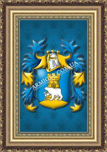 Семейный герб Семилет (г. Дн-вск)
