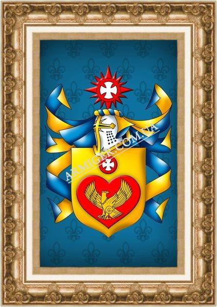 Личный герб Мелешко Е.П. (г.Луганск)