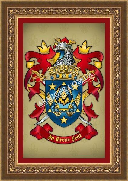 Герб семьи Дроздецких (г.Новосибирск, Россия)
