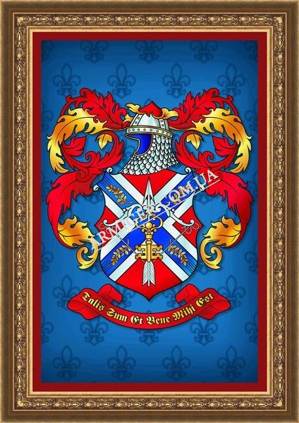 Личный герб Капустина Д.А. (г.Москва, Россия)