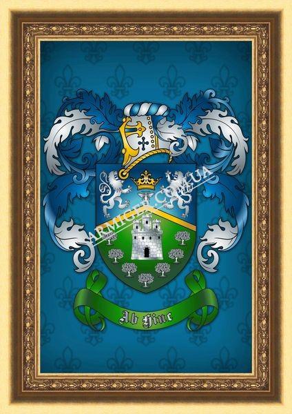 герб Пахомовых (г.Брисбен, Австралия)
