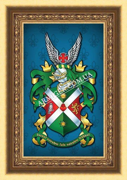 Родовой герб семьи Карпинских (г.Киев)