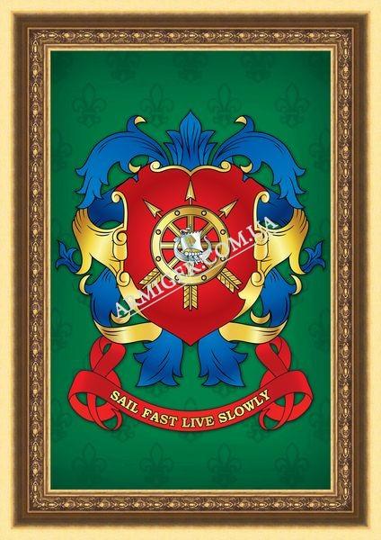 Личный герб Рогожина С.В. (г.Киев)