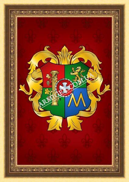 Личный герб Мамонтова Б.Ф. (г.Мариуполь)