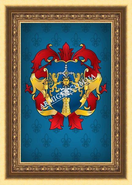 Родовой герб семьи Поминчук (г.Донецк)
